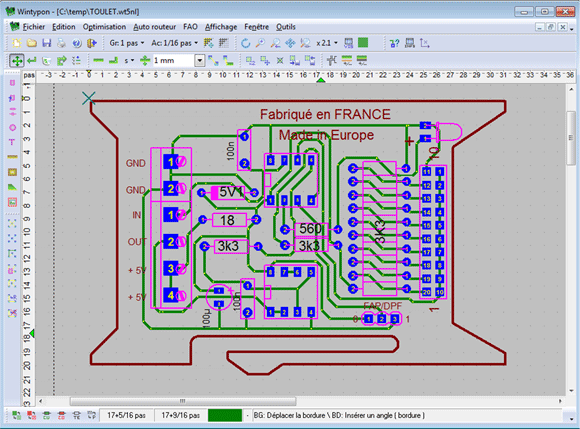 Logiciels de conception de circuits imprimés